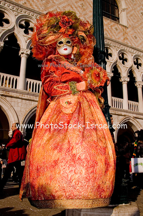 Italy, Venice Carnival Mask and costume