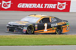 June 3, 2018 - Long Pond, PA, U.S. - LONG POND, PA - JUNE 03:  Jamie McMurray (1) drives the.Gearwrench Chevrolet during the Monster Energy NASCAR Cup Series - Pocono 400 on June 3, 2018 at Pocono Raceway in Long Pond, PA.  (Photo by Rich Graessle/Icon Sportswire) (Credit Image: © Rich Graessle/Icon SMI via ZUMA Press)