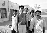 Local men on the streets of Rupsi Village in the desert