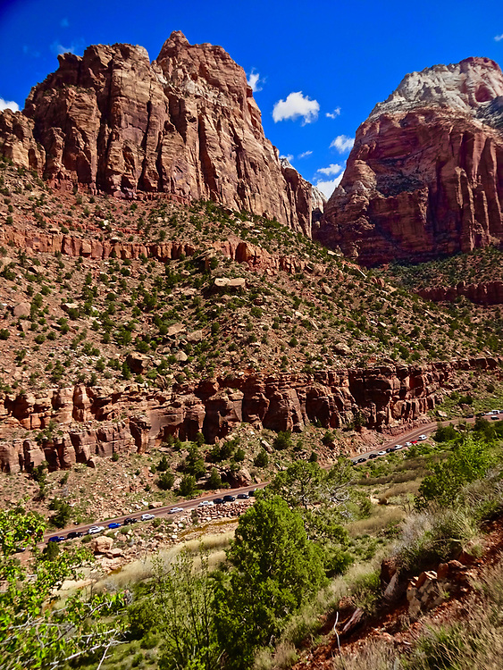 Southern Utah, Zion National Park, Rt #12