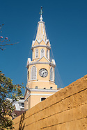 The Torre del Reloj, at the entrance of the plaza de los coches, is a symbol of the city