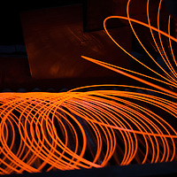 British Steel - coil production in steel