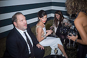 Harvey Weinstein and Georgina Chapman, Weinstein Bafta after-party in association with Chopard. Bungalow 8. London. 10  February 2008.  *** Local Caption *** -DO NOT ARCHIVE-© Copyright Photograph by Dafydd Jones. 248 Clapham Rd. London SW9 0PZ. Tel 0207 820 0771. www.dafjones.com.