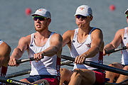 Plovdiv BULGARIA. 2017 FISA. Rowing World U23 Championships. <br /> <br /> Wednesday. PM,  Heats 17:32:42  Wednesday  19.07.17   <br /> <br /> [Mandatory Credit. Peter SPURRIER/Intersport Images].