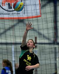 05-01-2013 VOLLEYBAL: NOJK 2013: HOUTEN<br /> In 25 sporthallen worden vandaag de Nationale Open Club Kampioenschappen gehouden, jeugd CMV / PDK Huizen<br /> ©2012-FotoHoogendoorn.nl