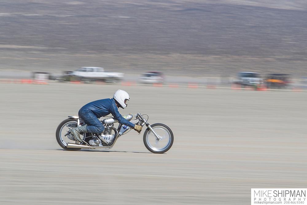 Alp Racing & Design, 773B, eng 650CC, body A-PF, driver Alp Sungertekin, 116.538 mph, record 145.979