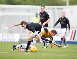 Falkirk's Blair Alston. Falkirk 3 v 1 East Fife, Petrofac Training Cup played 25th July 2015 at The Falkirk Stadium.