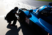 January 5-7, 2018. IMSA Weathertech Series ROAR before 24 test. 20 BAR1 Motorsports, Multimatic/Riley LMP2, Joel Miller
