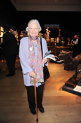 BARONESS JAMES OF HOLLAND PARK at an auction and priavte view of paintings, drawings, stories and doodles by well known personalities held at Christie's, St.James's, London on 20th September 2010.