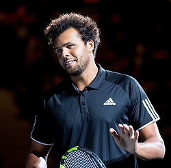 23.10.2016, Stadthalle, Wien, AUT, ATP Tour, Erste Bank Open, Tie Break Tens, Gruppe A, im Bild Jo Wilfried Tsonga (FRA) // Jo Wilfried Tsonga of France during a Tie Break Tens, group A, match of Erste Bank Open of ATP Tour at the Stadthalle in Vienna, Austria on 2016/10/23. EXPA Pictures © 2016, PhotoCredit: EXPA/ Sebastian Pucher