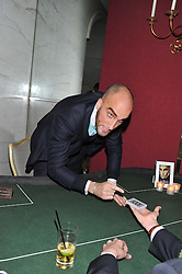 DRUMMOND MONEY-COUTTS at the Quintessentially Foundation poker evening at The Savoy Hotel, London on 30th October 2012.