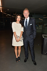 GARY & LAUREN KEMP at the YOO 15 Anniversary Party hosted by John Hitchcox and Philippe Starck at Bankside, SE1 on 17th September 2014