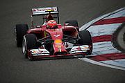 April 17, 2014 - Shanghai, China. UBS Chinese Formula One Grand Prix. Kimi Raikkonen (FIN), Ferrari<br /> <br /> © Jamey Price / James Moy Photography