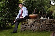 Editorial photograph of businessman in Peebles