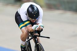 March 1, 2019 - Pruszkow, Poland - Alexander Porter of Australia competes in the Men's Individual Pursuit Qualifying race on day three of the UCI Track Cycling World Championships held in the BGZ BNP Paribas Velodrome Arena on March 01, 2019 in Pruszkow, Poland. (Credit Image: © Foto Olimpik/NurPhoto via ZUMA Press)