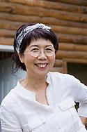 Mayumi Nishimura, celebrity macrobiotic chef and health coach.<br /> <br /> Photographer: Christina Sjogren<br /> Copyright 2019, All Rights Reserved