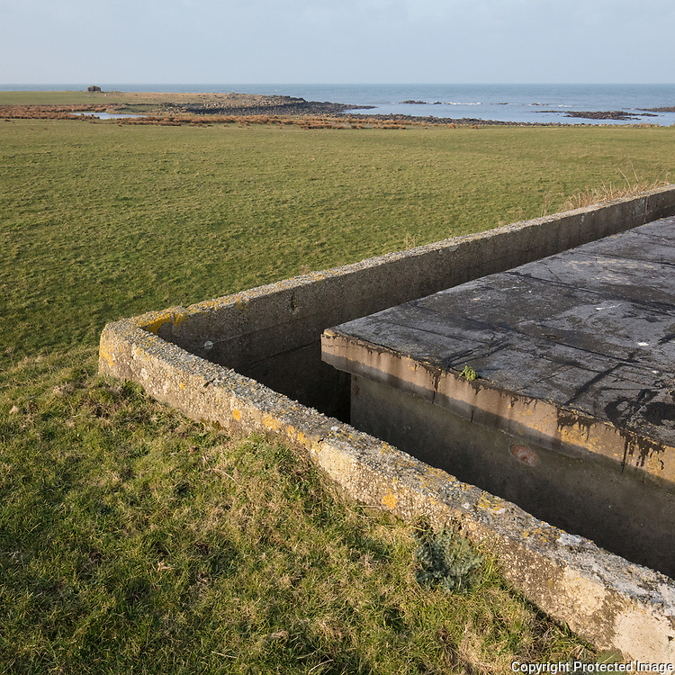 RAF North Cairn IV, WWII Chain Home Radar Station bunker, Dumfries and Galloway, Scotland.