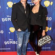 NLD/Amsterdams/20190326 - Filmpremiere Dumbo, Winston Post en partner Denise van Rijswijk