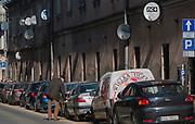 Ulica Bożego Ciała na krakowskim Kazimierzu.<br /> Bożego Ciała Street on Krakow's Kazimierz.