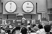 Nederland, Barendrecht, 15-1-1986Afmijnzaal van de groenteveiling Zuid Holland Zuid.Foto: Flip Franssen/Hollandse Hoogte