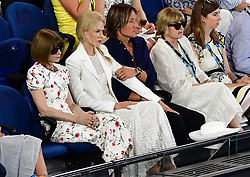 January 24, 2019 - Melbourne, Australia - Australian Open - Nicole Kidman et son mari - Australie (Credit Image: © Panoramic via ZUMA Press)