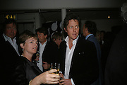 FLORA HOOD AND HUGH GRANT. Dinner in aid of 'Action Trust For the Blind organised by Matthew Carr. 20th Century Theatre. Westbourne Gro. London. 26 September 2007. -DO NOT ARCHIVE-© Copyright Photograph by Dafydd Jones. 248 Clapham Rd. London SW9 0PZ. Tel 0207 820 0771. www.dafjones.com.