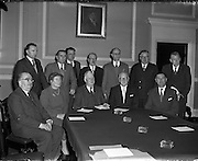 09/12/1957<br /> 12/09/1957<br /> 09 December 1957<br /> <br /> Savings Committee Meeting at Government Meeting