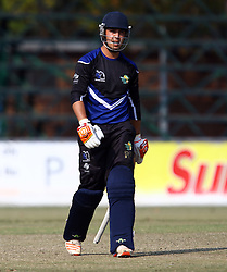 Pietermaritzburg, SOUTH AFRICA 4 September 2016 - Ruhan Pretorius of the KwaZulu-Natal Inland during the African Cup T20 game between KwaZulu-Natal Inland and Namibia at the City Oval, Pietermaritzburg, South Africa. Photo by: Steve Haag/ Real Time Images