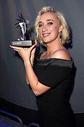Gouden Televizier-Ring Gala 2017 in AFAS live, Amsterdam<br />  <br /> Op de Foto:   Eva Jinek wint Zilveren Televizier-Ster beste presentatrice