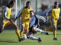 Fotball, La Manga, Spania. 23. februar 2002. Rosenborg - FC. Anji Moskva 4-4. Janne Saarinen, Rosenborg.