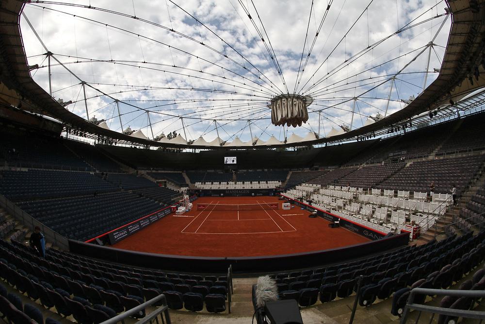 Tennis: Rothenbaum, German Open 2017, Hamburg, 23.07.2017<br /> Manhagen Classics: Michael Stich (GER) - Tommy Haas (GER), Center Court<br /> © Torsten Helmke