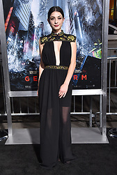October 17, 2017 - Los Angeles, California, USA - 10/16/17.Niki Koss at the world premiere of ''Geostorm''..(Hollywood, CA) (Credit Image: © Starmax/Newscom via ZUMA Press)