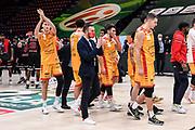 Team Carpegna Prosciutto VL Pesaro, Henri Drell<br /> A|X Armani Exchange Olimpia Milano - Carpegna Prosciutto VL Pesaro<br /> LBA Frecciarossa Final Eight 2021 - Finale<br /> Legabasket Serie A UnipolSAI 2020/2021<br /> Milano, 14/02/2021<br /> Foto L.Canu / Ciamillo-Castoria