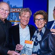 NLD/Amsterdam/20190207 - Boekpresentatie Maarten van Nispen, Joop van den Ende en partner Janine Klijburg en ...........
