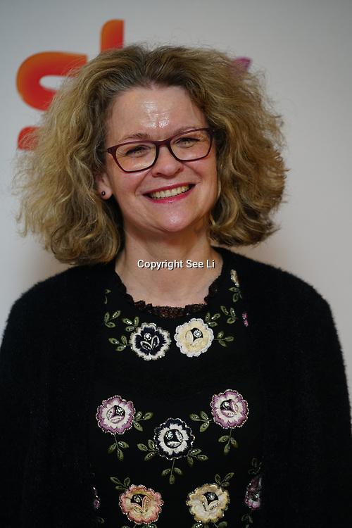 London Hilton, Park lane, England, UK. 1st December 2017. Liz Macintyre attends the Sky Women in Film and TV Awards.