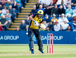 Billy Root of Glamorgan in action today <br /> <br /> Photographer Simon King/Replay Images<br /> <br /> Vitality Blast T20 - Round 1 - Glamorgan v Somerset - Thursday 18th July 2019 - Sophia Gardens - Cardiff<br /> <br /> World Copyright © Replay Images . All rights reserved. info@replayimages.co.uk - http://replayimages.co.uk