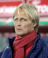 Fotball<br /> Hellas<br /> Foto: imago/Digitalsport<br /> NORWAY ONLY<br /> <br /> 19.12.2010 <br /> AE Larisa - Olympiakos Piräus 0:1 Larisa Trainer Jørn Andersen im Porträt