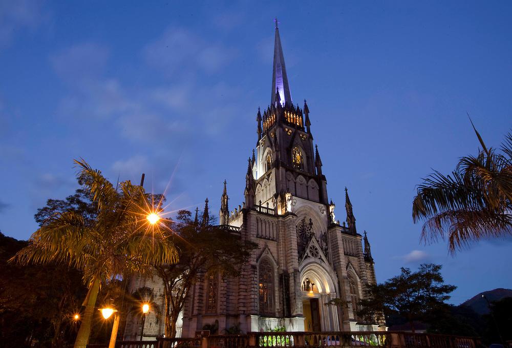 Petropolis_RJ, Brasil...Catedral Sao Pedro de Alcantra em Petropolis, Rio de Janeiro...Sao Pedro de Alcantra cathedral in Petropolis, Rio de Janeiro...Foto: BRUNO MAGALHAES / NITRO