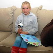 NLD/Huizen/20061117 - Dominque Rozenstraten Bever Huizen heeft alle mogelijke zwemdiploma's gehaald