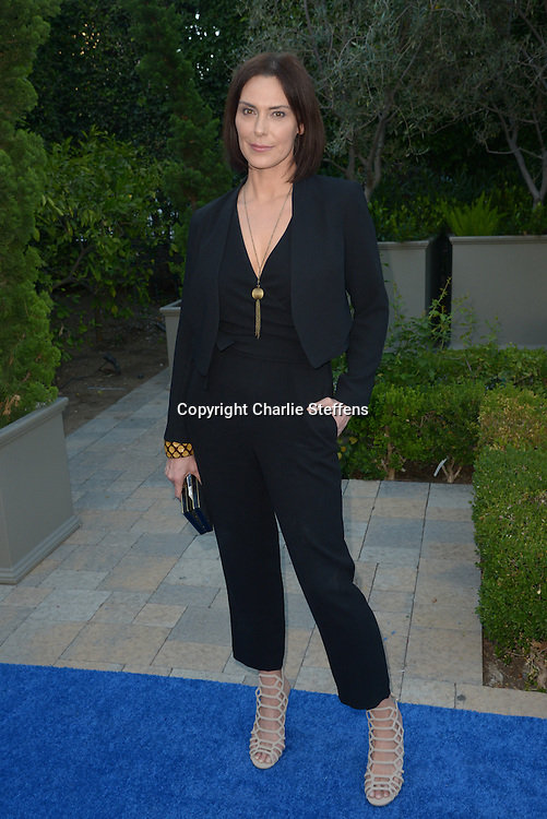 Michelle Forbes arrives at the Mercy For Animals' Annual Hidden Heroes Gala on September 10, 2016 at Vibiana, Los Angeles, California (Photo: Charlie Steffens/Gnarlyfotos)