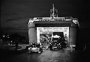 Lastning av Gotlandsfärjan i Nynäshamn för natturen