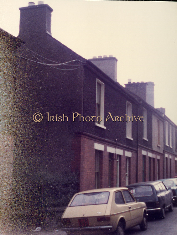 Old Dublin Amature Photos Date Unknown With 1980s Old amateur photos of Dublin streets churches, cars, lanes, roads, shops schools, hospitals, fiat 127