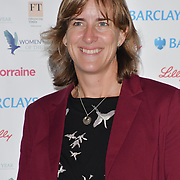 Katherine Grainger attends Women of the Year Lunch and Awards at Intercontinental Hotel Park Lane, London, UK. 15 October 2018.
