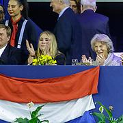 NLD/Amsterdam/20190127 - Jumping Amsterdam, dag 3, Willem-Alexander, Amalia, Irene