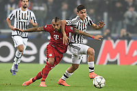 Arturo Vidal Bayern, Paulo Dybala Juventus <br /> Torino 23-02-2016 Juventus Stadium, Football Champions League 2015/2016 Round of 16 Juventus - Bayern Munich / Juventus - Bayern Monaco .  Foto Image Sport / Insidefoto