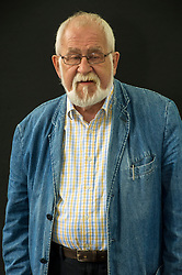 Pictured: Douglas Eaglesham Dunn, OBE is a Scottish poet, academic, and critic. <br /> Book fanatics headed to Charlotte Square in Edinburgh which is the hub of the international Book Festival to meet the authors and also to meet up with fellow fans of the printed word.<br /> <br /> <br /> Ger Harley | EEm 18 August 2017