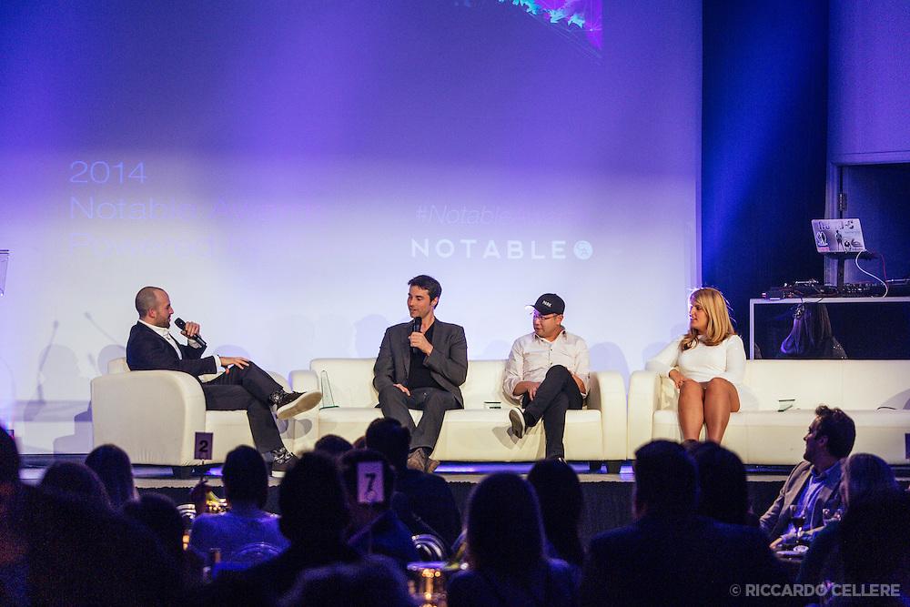 Antonio Park at Notable awards Montreal - November 26, 2014.