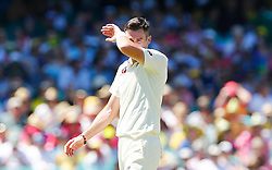 England's James Anderson during day four of the Ashes Test match at Sydney Cricket Ground.