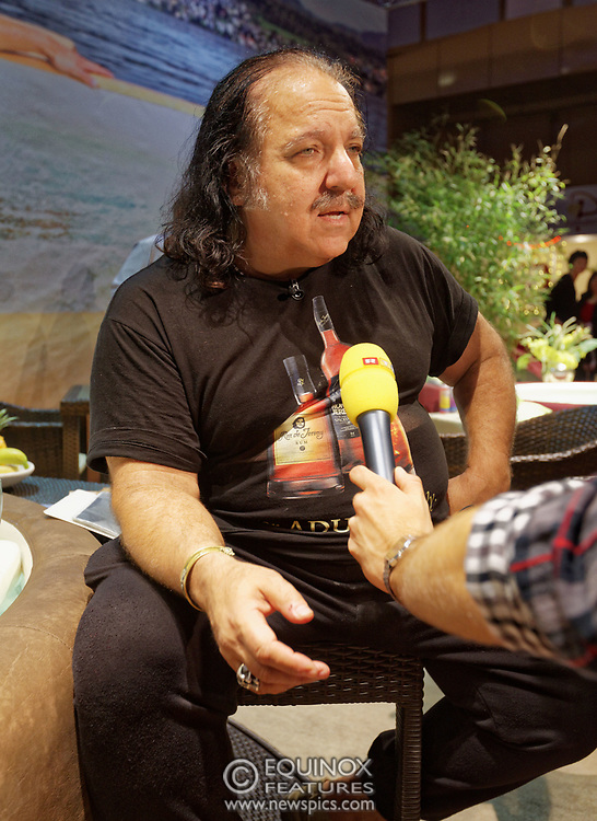 Berlin, Germany - 18 October 2012<br /> Porn star Ron Jeremy promoting his 'Ron Jeremy' brand of rum at the Venus Berlin 2012 adult industry exhibition in Berlin, Germany. Ron Jeremy, born Ronald Jeremy Hyatt, has been an American pornographic actor since 1979. He faces sexual assault allegations which he strenuously denies. There is no suggestion that any of the people in these pictures have made any such allegations.<br /> www.newspics.com/#!/contact<br /> (photo by: EQUINOXFEATURES.COM)<br /> Picture Data:<br /> Photographer: Equinox Features<br /> Copyright: ©2012 Equinox Licensing Ltd. +448700 780000<br /> Contact: Equinox Features<br /> Date Taken: 20121018<br /> Time Taken: 12145746