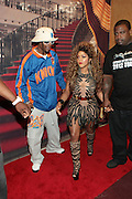 May 18, 2012 -New York, NY-United States: (L-R) Hip Hop Recording Artist Mr. Cheeks and Hip Hop Recording Artist/Actress Lil' Kim attends the Lil' Kim performance as part of her ' Return of the Queen Tour ' held at Paradise Theater on May 18, 2012 in the Bronx, NY. Consistently recognized as a trailblazing Female MC, Lil'Kim has been a member of the clic, Junior MAFIA, headed by the late Notorious B.I.G. and has released 3 RIAA certified platinum albums to date. (Photo by Terrence Jennings)